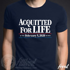 ACQUITTED FOR LIFE T-Shirt Conservative Republican 2020 Forever Maga Trump 45  image