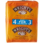 Wrights Coal Tar Soap 125g Bars Traditional Antiseptic All Skin Types Wright's