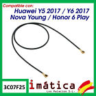 Cable Antenna Huawei Y5 Y6 2017 Connector Coaxial Flex Wifi Network Signal Honor