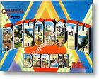 Greetings from REHOBOTH BEACH DELAWARE Vintage Retro Decorative Metal Sign