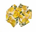 Lemon Pinwheel Bow