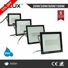 20W-100W LED Floodlight Outdoor Security Flood Light IP66 Garden Cool White