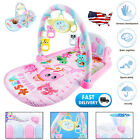 3 in 1 Baby Light Musical Gym Play Mat Lay & Play Fitness Fun Piano Boy Girl USA for sale  Shipping to South Africa