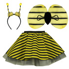 world book day FANCY DRESS animal SKIRT Party Accessory Girls EARS BOW TAIL SET