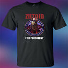 Ziltoid For President Metal Band Funny Logo Mens Black T-Shirt Size S to 3XL image
