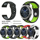 For Samsung Galaxy Watch 46mm/42mm Gear S3 Frontier Classic Band Silicone Strap image