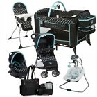 Kyпить Disney Baby Stroller with Car Seat Travel System Diaper Bag Playard Swing Combo на еВаy.соm