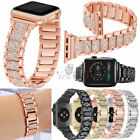 For Apple Watch Series 5 4 3 21 38/42 Stainless Steel Bracelet iWatch Band Strap image