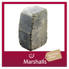 CONCRETE KERB EDGING BLOCK WOBURN TUMBLED 200X125X100MM MIN ORDER 2 PACKS