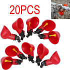 Купить 40 Poultry Water Drinking Cups Chicken Hen Plastic Automatic Drinker USA NBW