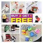 Cute 3D Cartoon AirPods Silicone Case Protective Cover For Apple AirPod 2 $6.99  on eBay