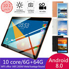 "10.1"" Inch Tablet Android 8.1 6G 64GB 10 Core bluetooth WIFI Dual SIM Camera"