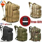 45L Outdoor Tactical Backpack Survival Gear Rucksack Travel Trekking Camping Bag