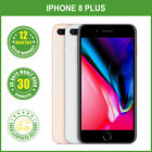 New Sealed Box Apple iPhone 8 Plus+ 64/256GB Factory Unlocked Gray Silver Gold