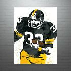 Franco Harris Pittsburgh Steelers Poster FREE US SHIPPING $14.99 USD on eBay