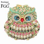 Women Owl Evening Bags and Clutches Cocktail Party Crystal Purses Minaudiere Bag