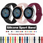 For Samsung Galaxy Watch 46 Active 2 40/44mm Sports Silicone Band Strap Bracelet image