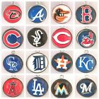 Buy 3, Get 2(ADD 5 TO CART)! MLB PRO BASEBALL TEAM Dangle Charms w/Lobster Clasp on Ebay
