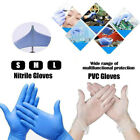 Kyпить 1000 Disposable Powder Free Clear & Blue Vinyl Gloves Food Small-Large на еВаy.соm