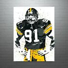 Kevin Greene Pittsburgh Steelers Poster FREE US SHIPPING $14.99 USD on eBay