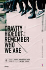 CRAVITY SEASON1 HIDEOUT:REMEMBER WHO WE ARE Album CD+POSTER+Book+Card+PreOrder