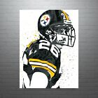 Rod Woodson Pittsburgh Steelers Poster FREE US SHIPPING $14.99 USD on eBay