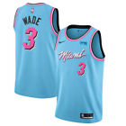 Dwyane Wade #3 Miami Heat Men's N Blue City Edition Jersey on eBay