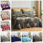 Supersoft Geometric Blanket Microplush Blanket Plush Fleece Bed Decor Cal King image