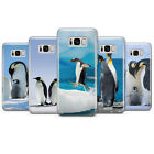 Penguins Cute Animals Phone Case cover for Samsung S6/7/8/9/9+/10+/E/J3/4/5/6 $7.77 USD on eBay