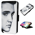 Awesome Elvis Presley - Flip Phone Case Wallet Cover - Fits Iphones