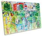 Raoul Dufy Paddock Ascot CANVAS WALL ART Picture Print