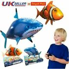 Xmas Remote Control Flying Shark Fish RC Radio Air Swimmer Inflatable Blimp