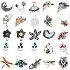 Delicate Little Bee Insect Crystal Rhinestone Collar Brooch Pin Women Jewelry image