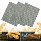 BBQ Cooking Grill Mesh Mat/Sheet - Resistant & Non-Stick - Mesh - Pack of 1-5