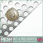 Aluminium (10mm Hole x 15mm Pitch x 1mm Thick) Perforated Mesh Sheet Plate