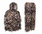 Brown Leafy Camouflage Hunting Ghillie Suit 3 Size Choices Hiding Ambush Natural