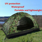 Family Camouflage Tent Waterproof UV protection Camping 4 Season Hiking Outdoor