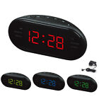 Digital LED Display Alarm Clock Snooze Desktop Desk Timer FM/AM Radio Home Decor
