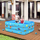 2/3 Layers Inflatable Baby Kids Swim Bathtub Swimming Pool Play Toy Fish Pattern