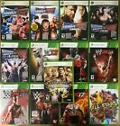 WWE Wrestling games (Microsoft Xbox 360)  360 TESTED