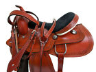 PRO WESTERN BARREL RACING SADDLE 15 16 PLEASURE HORSE SNAKE TOOLED LEATHER TACK