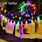 Leds Photo Clips String Lights Indoor Photos Garlands Fairy Lights Hanging Multi