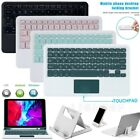 Bluetooth Wireless Keyboard With Touchpad + Stand For Ios Windows Ipad Tablet Pc