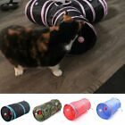Foldable Pet Dogs Cat Tunnels Rabbit Training Toy Play Tunnel Tube Funny Toys