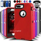 Kyпить For iPhone 6 6s 7 8 Plus SE 2 Defender Shockproof Case Cover w/ Screen Protector на еВаy.соm