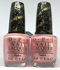 OPI Nail Polish Pussy Galore NL M50 Sparkle Baby Pink Liquid Sand Lacquer $11.95 USD on eBay
