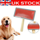 UK Long Haired Pet Dog Cat Hair Brush Pin Fur Grooming Trimmer Comb Tool Kit HOT