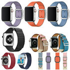 40/44mm Genuine Leather iWatch Band Strap Bracelet for Apple Watch Series 5 4 3 image