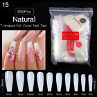100 Pcs/Box Quick Building Tips Nail Forms Finger Extension False Nail Art Tool