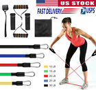 11 Pcs Resistance Bands Set, Workout Exercise Bands for Resistance Training Yoga image